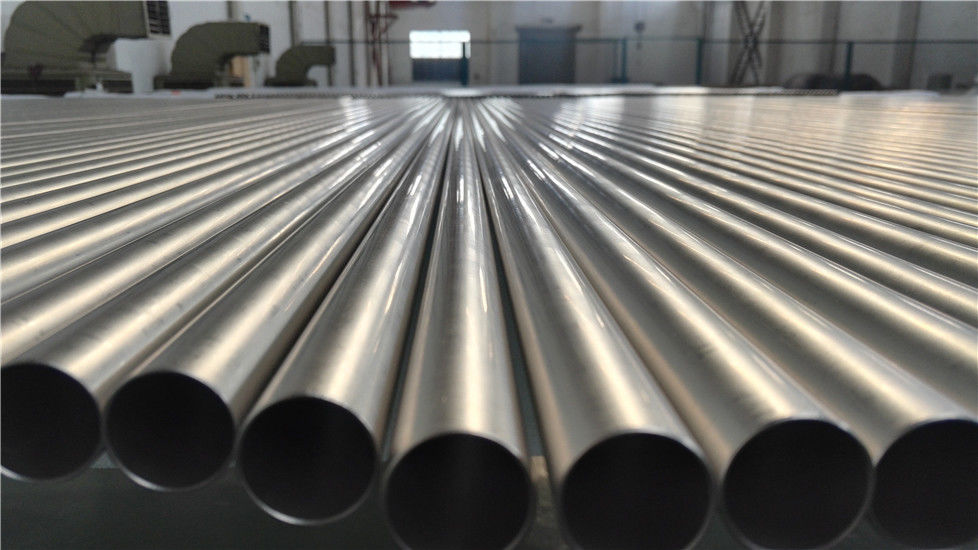 Titanium  Heat Exchanger Pipe ASME SB338 Grade 2 Grade 9 Precision Titanium Tube