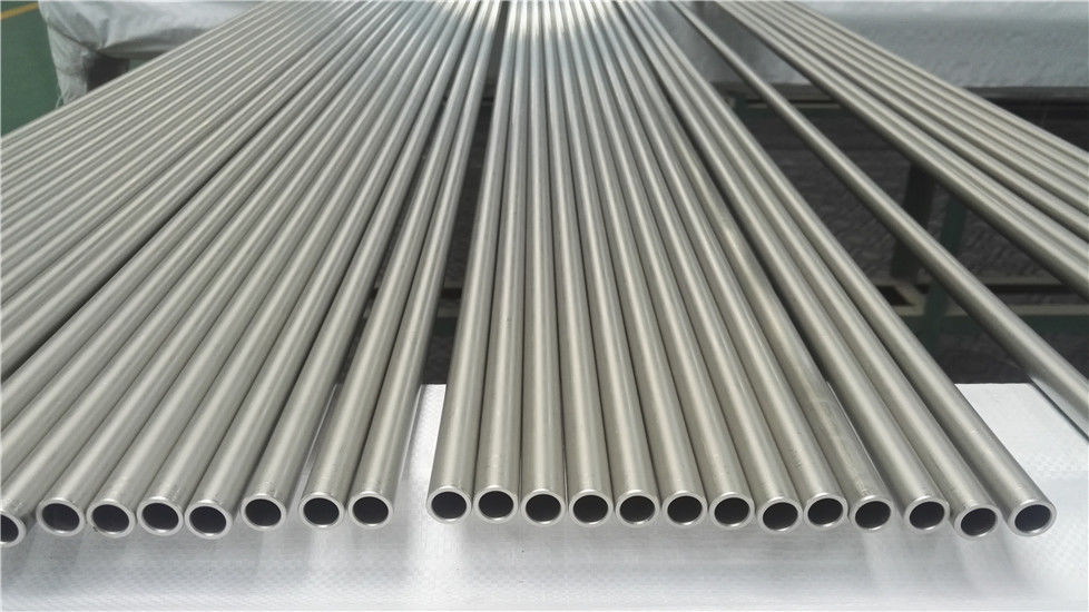 Heat Resistant Thin Wall Aluminum Tubing 0.5mm For Petroleum Refining Heater