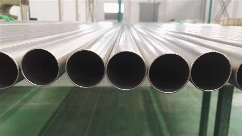 Pickled Sand Blasted Heat Exchanger Tube Corrosion Resistant For Seawater Desalination